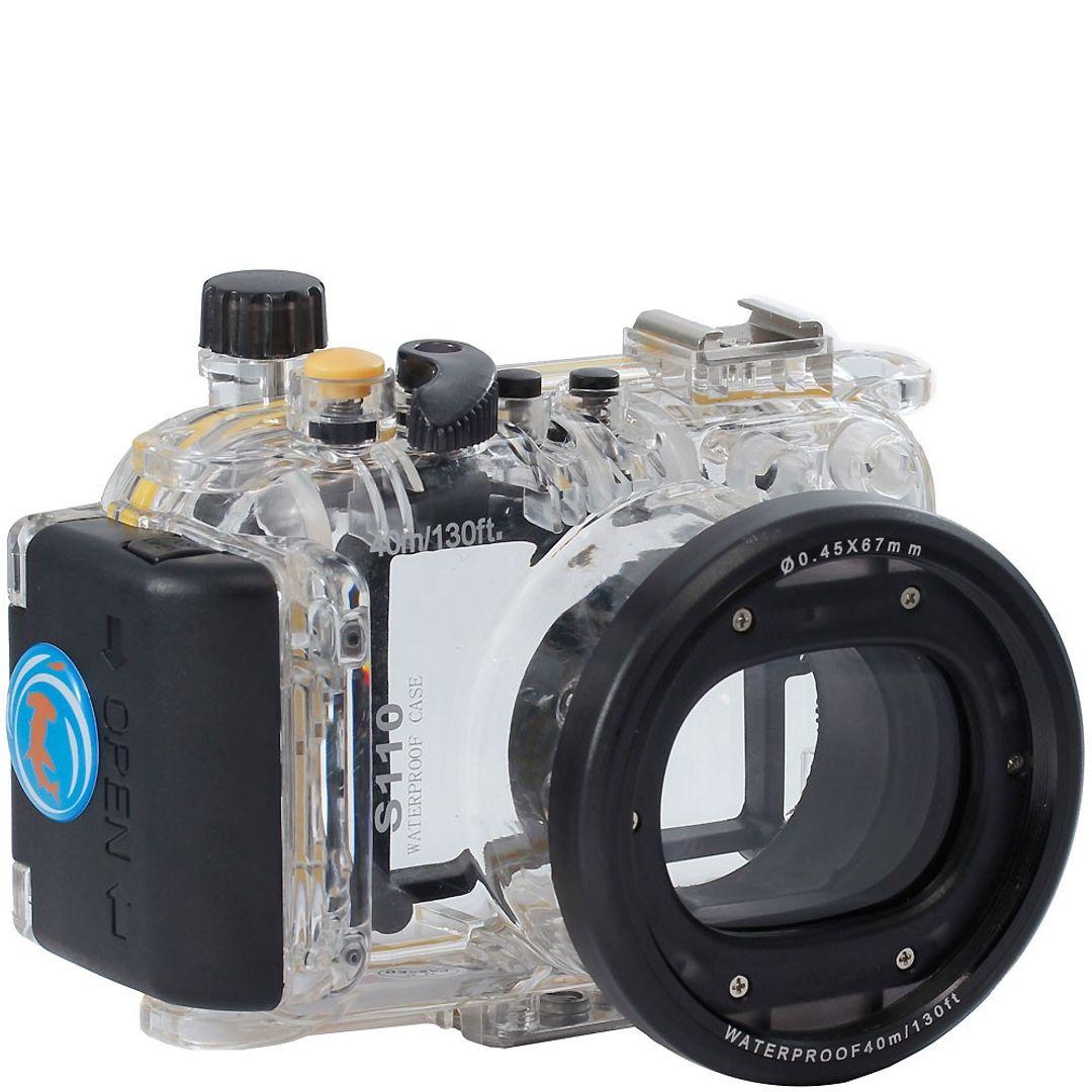 Canon S110 UW Gehäuse (40m) WP-DC47 PRO von Hydronalin