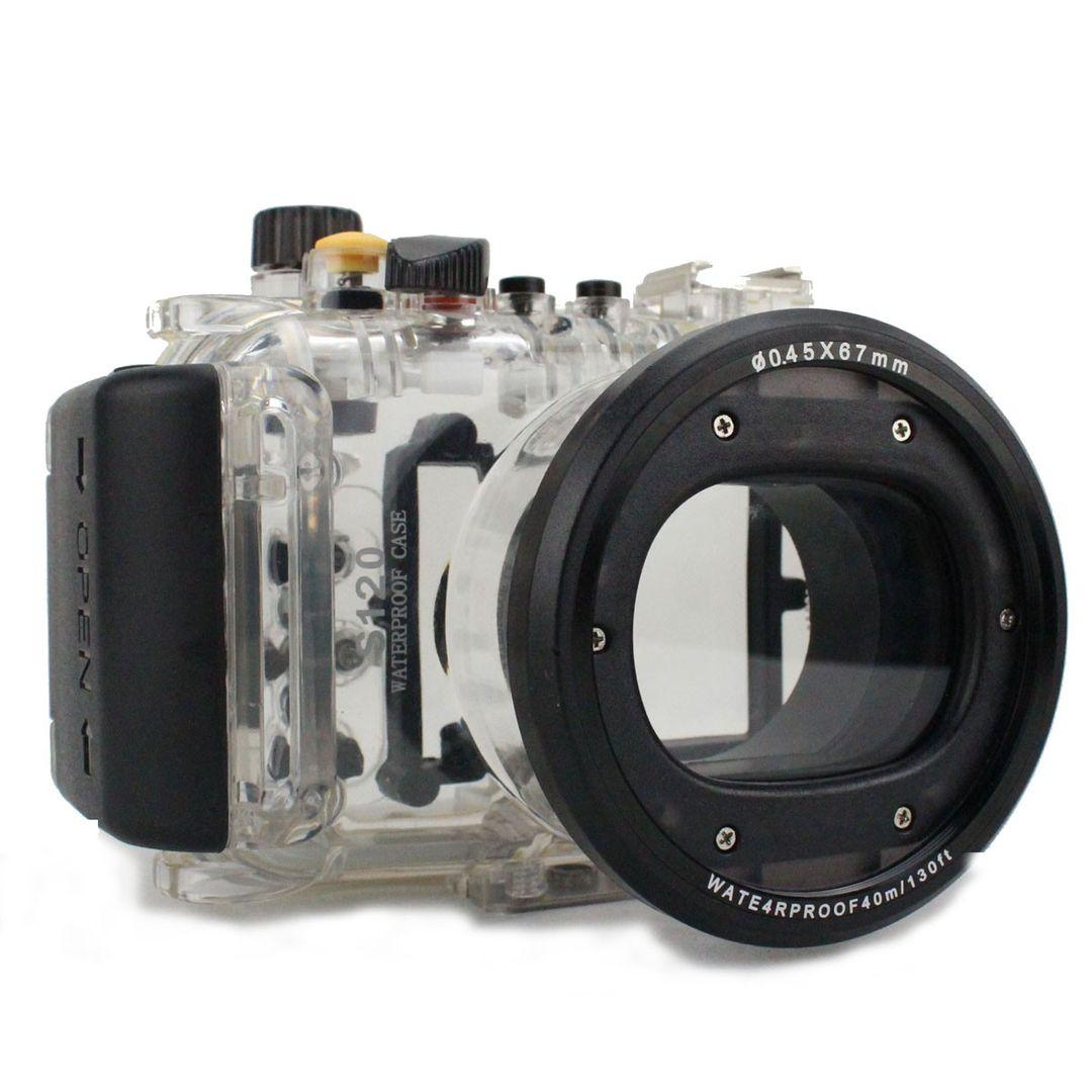 Canon S120 UW Gehäuse (40m) WP-DC51 PRO von Hydronalin