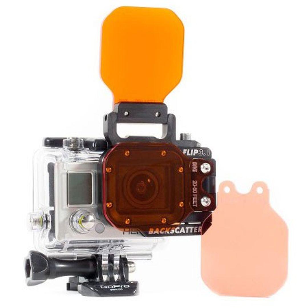 Backscatter Flip 3.1 Combo für GoPro Hero Side,Top,Shallow,Dive & Deep – Bild 1