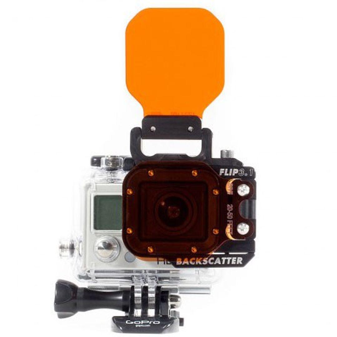Backscatter Flip 3.1 Combo für GoPro Hero Side,Top,Shallow,Dive & Deep – Bild 4