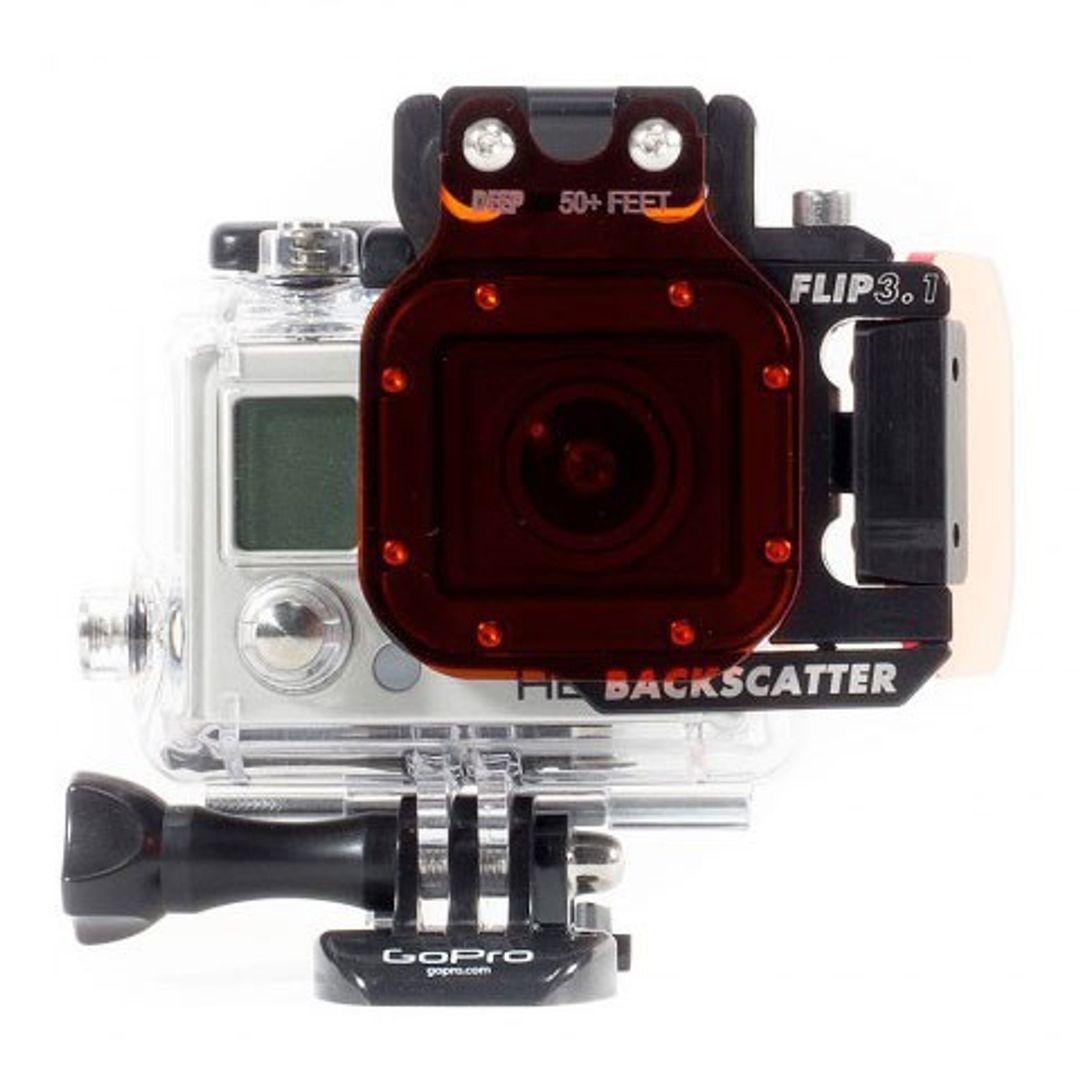 Backscatter FLIP3.1 Top FlipFilterhalter (ohne Filter) für GoPro HERO4 – Bild 3