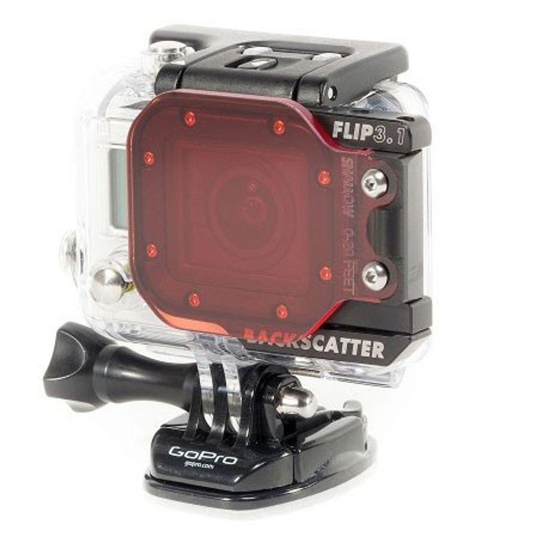 Backscatter FLIP3.1 Blauwater SHALLOW Filter für GoPro HERO4 – Bild 6