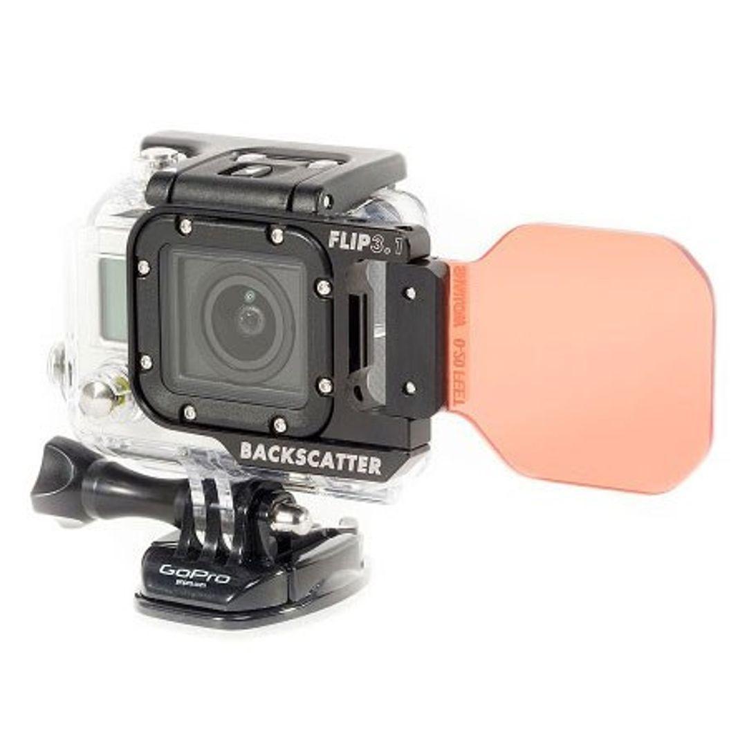 Backscatter FLIP3.1 Blauwater SHALLOW Filter für GoPro HERO4 – Bild 7