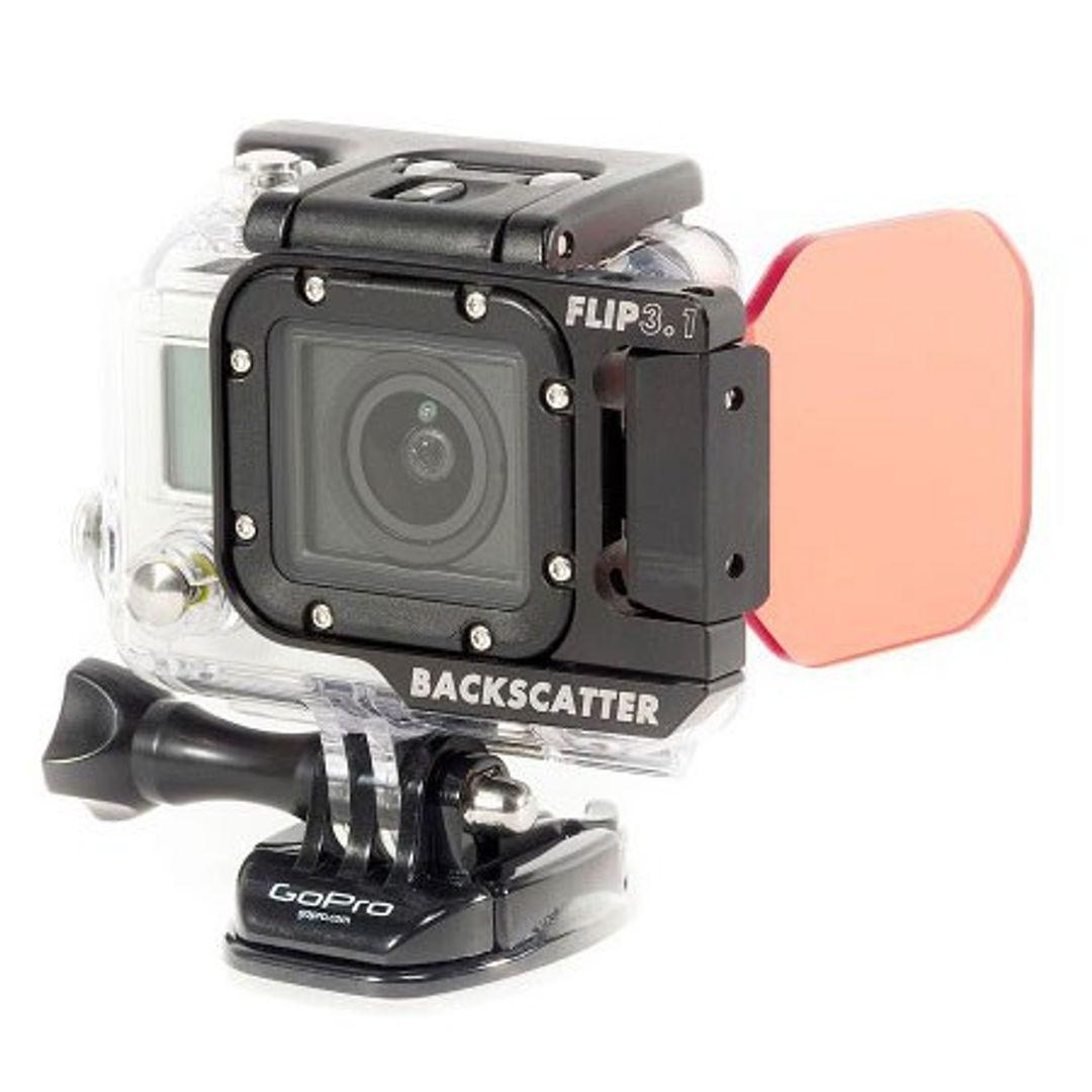 Backscatter FLIP3.1 Blauwater SHALLOW Filter für GoPro HERO4 – Bild 8