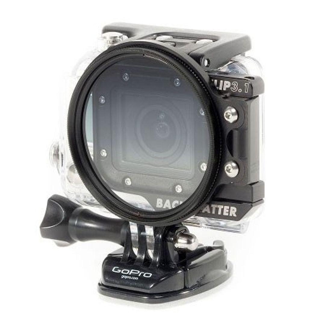 Backscatter FLIP3.1 55mm Verlauf ND Filter für GoPro HERO4 – Bild 4
