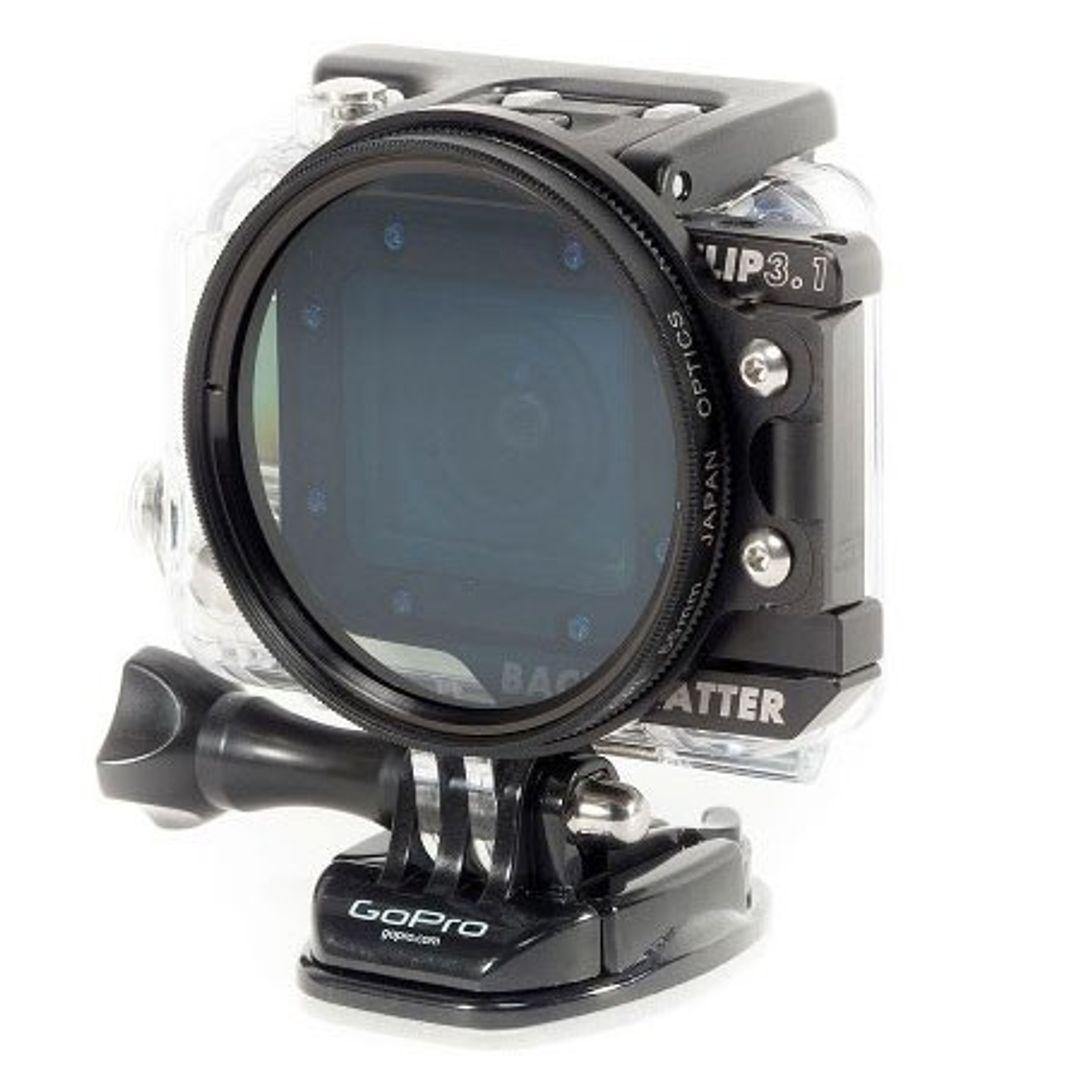 Backscatter FLIP3.1 55mm Polfilter für GoPro HERO4 – Bild 4