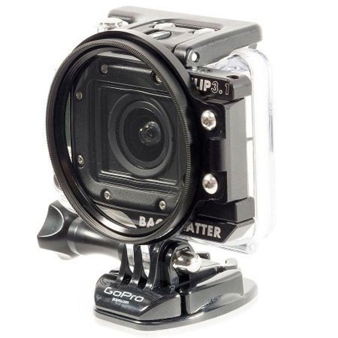 Backscatter FLIP3.1 +10 Macro Linse für GoPro HERO4 mit 55 mm Durchmesser – Bild 2