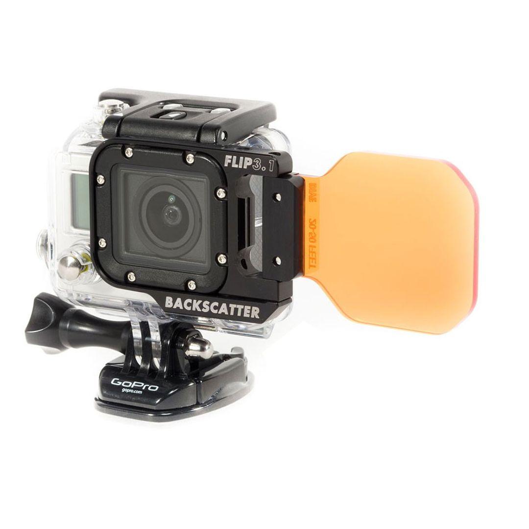 Backscatter FLIP3 SIDE FLIP mit DIVE Filter für GoPro HERO4 – Bild 2