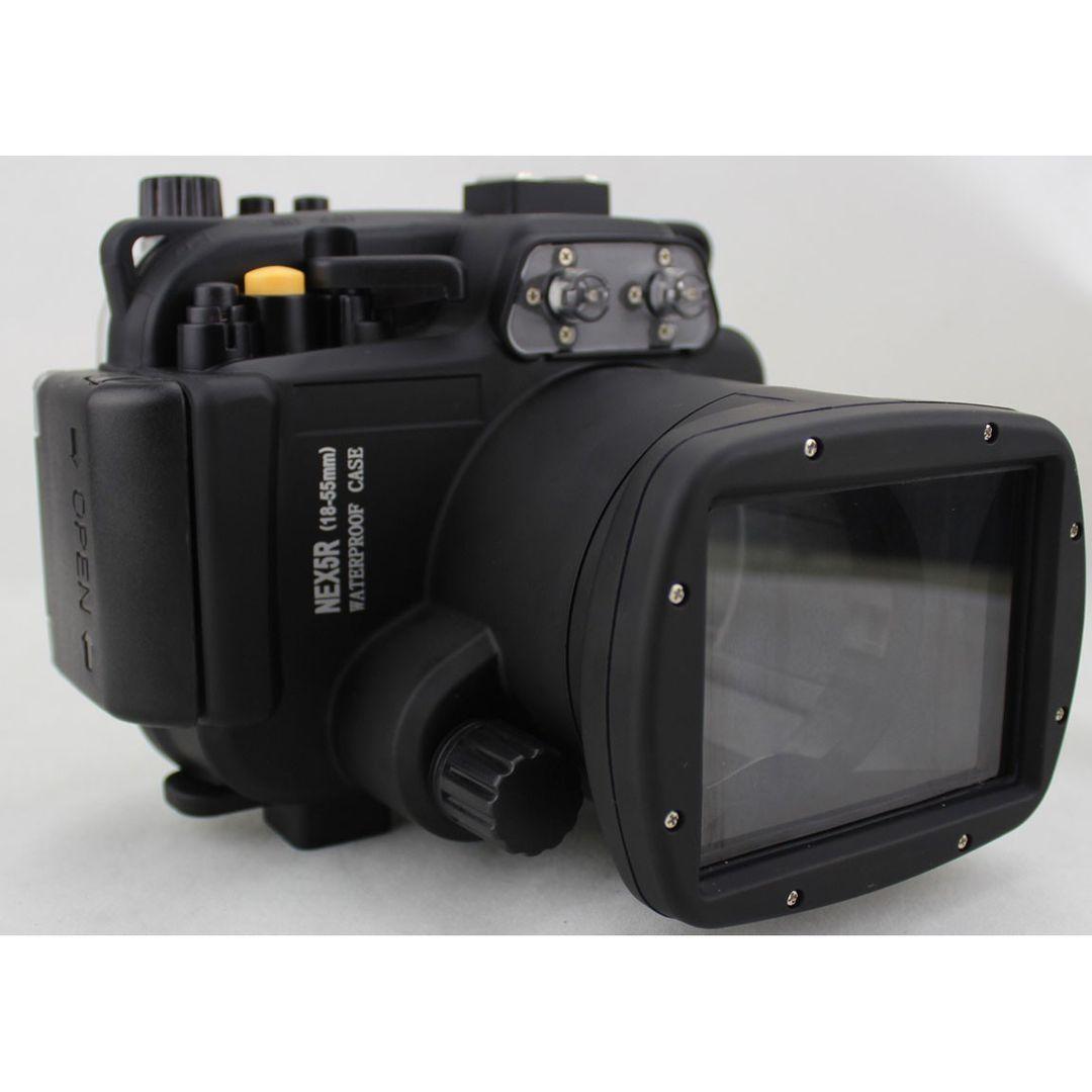 Sony NEX-5R 16-50mm UW Gehäuse (40m) – Bild 1