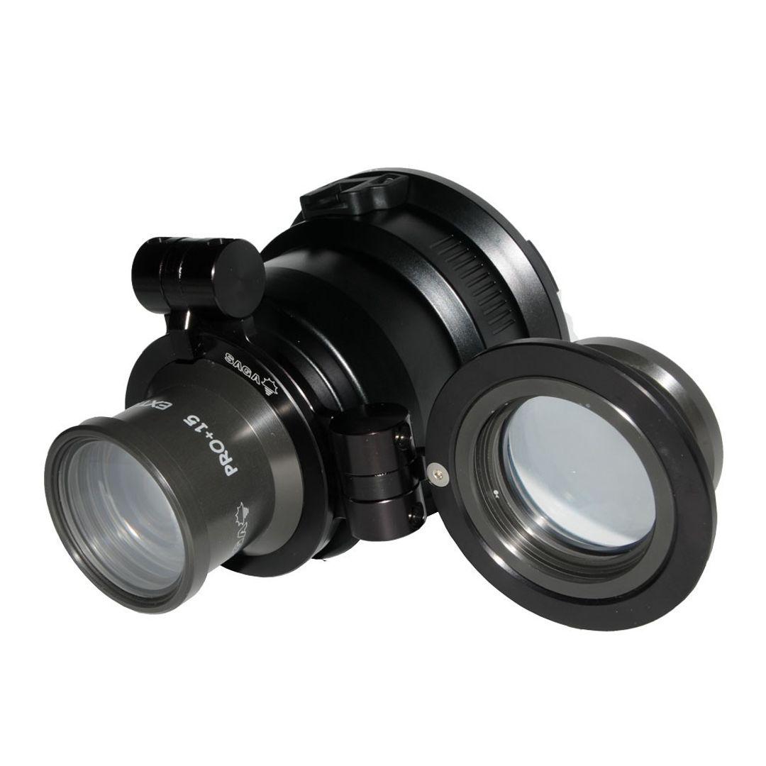 SAGA 67 mm Magnet Doppel Klaphalter Schwenkadapter M67 Flip Lens Holder – Bild 2