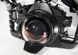 "SAGA Dome 4 "" Nikon 10.5 Fisheye Minidome"