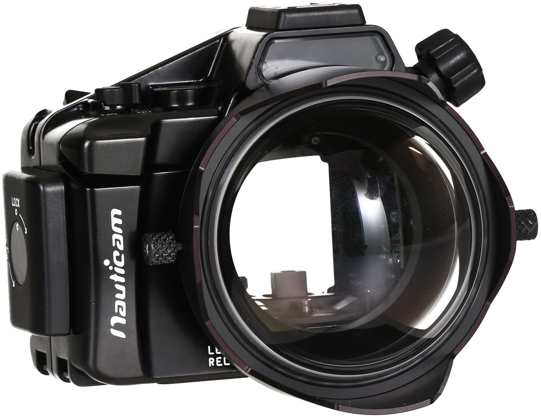 "SAGA Dome 4"" Panasonic 8mm- Nauticam – Bild 1"