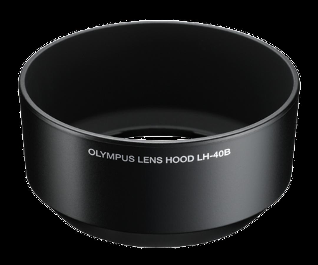 Olympus LH-40B Gegenlichtblende für M4518 schwarz