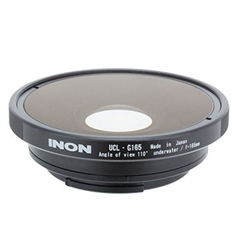 INON UCL-G165 SD Underwater Wide Close-up Objektiv für GoPro im INON Cage – Bild 1