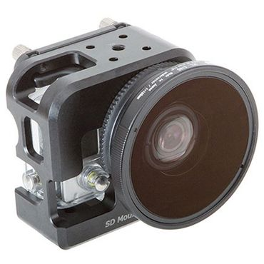 INON UCL-G165 SD Underwater Wide Close-up Objektiv für GoPro im INON Cage – Bild 2