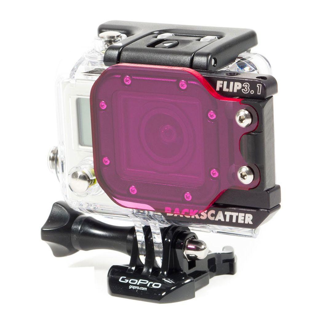 Backscatter FLIP 3.1 SIDE Flipmit GRÜNWASSER Filter für GoPro HERO4 HERO5 – Bild 1
