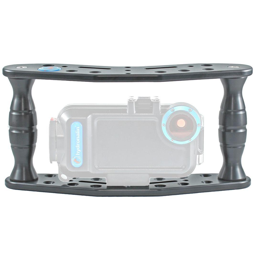Hydronalin Tauchstativ Doppeldecker HD 43 für GoPro, ActionPro X7, Rollei – Bild 5