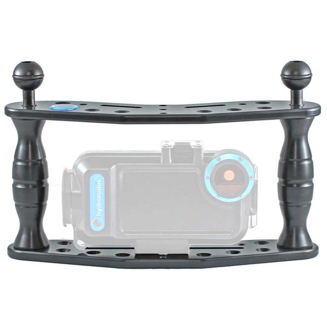 Hydronalin Tauchstativ Doppeldecker HD 43 für GoPro, ActionPro X7, Rollei – Bild 6