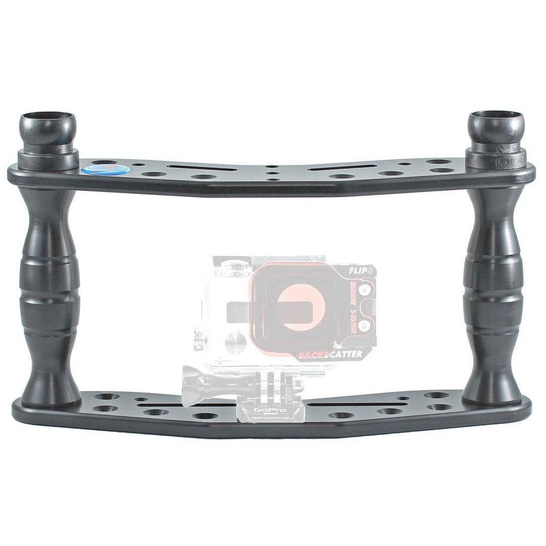 Hydronalin Tauchstativ Doppeldecker HD 43 für GoPro, ActionPro X7, Rollei – Bild 1