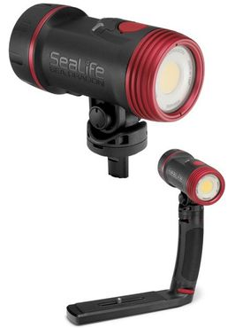Sealife Sea Dragon 2500F / 5000 Duo - Foto-Video-Tauchlampe mit Schiene – Bild 4