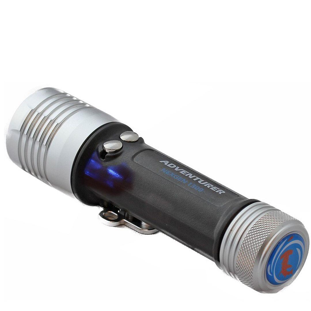 Tauchlampe Adventurer ® 1300 WRL LED   Video   Rotlicht   Laser – Bild 1