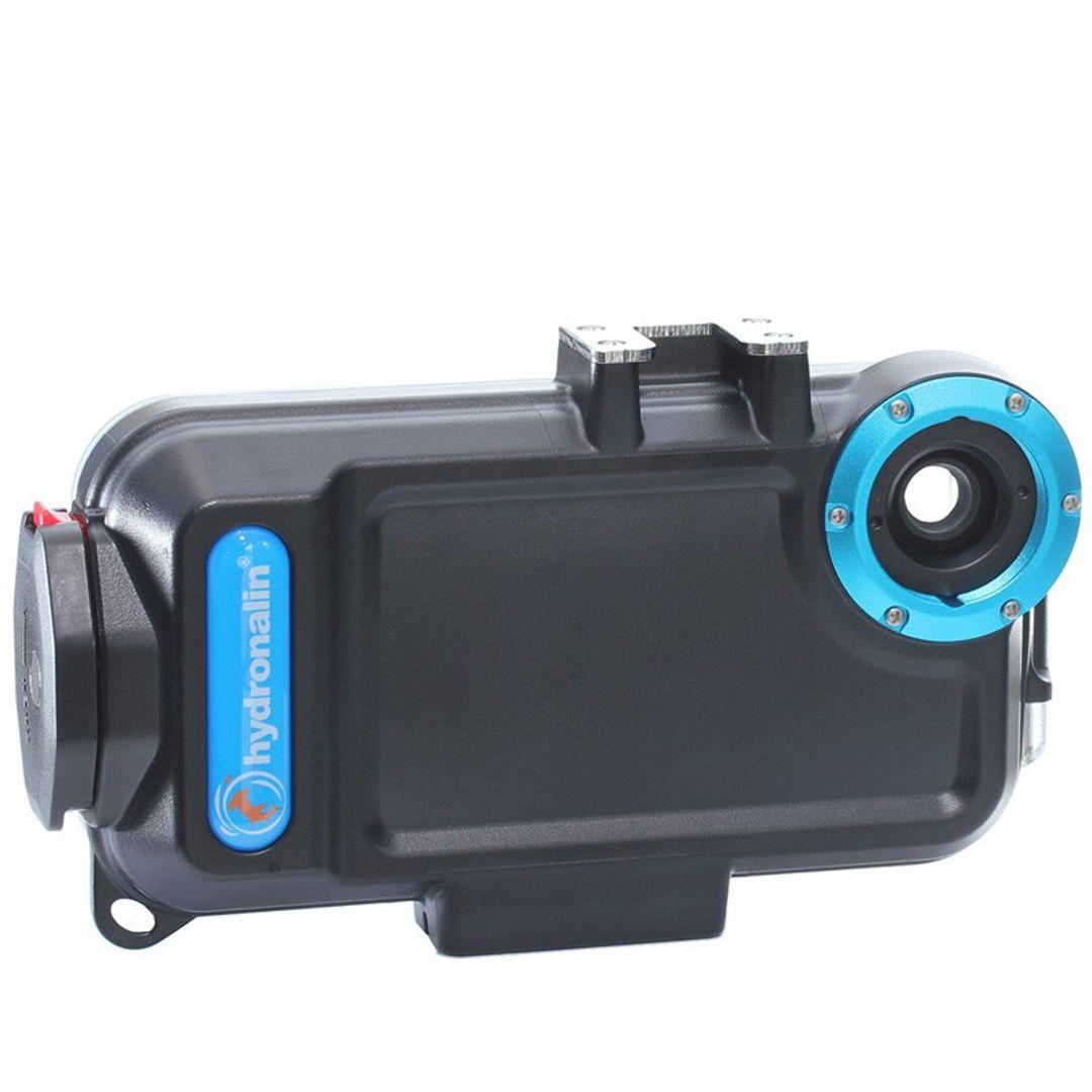 iPhone SE und 5s Unterwassergehäuse von Hydronalin® | 40M | inkl. Rotfilter – Bild 1