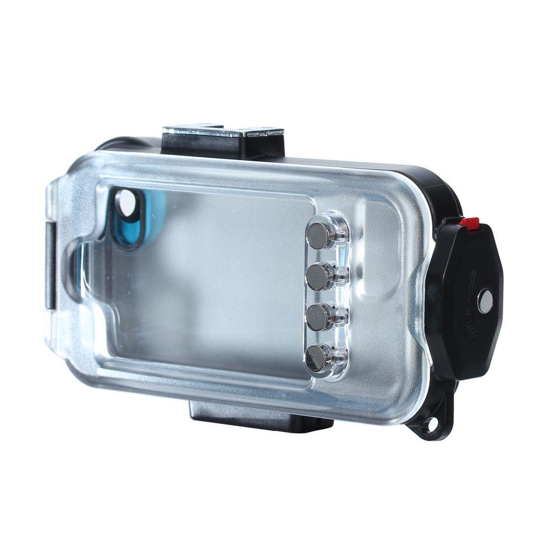 iPhone SE und 5s Unterwassergehäuse von Hydronalin® | 40M | inkl. Rotfilter – Bild 3