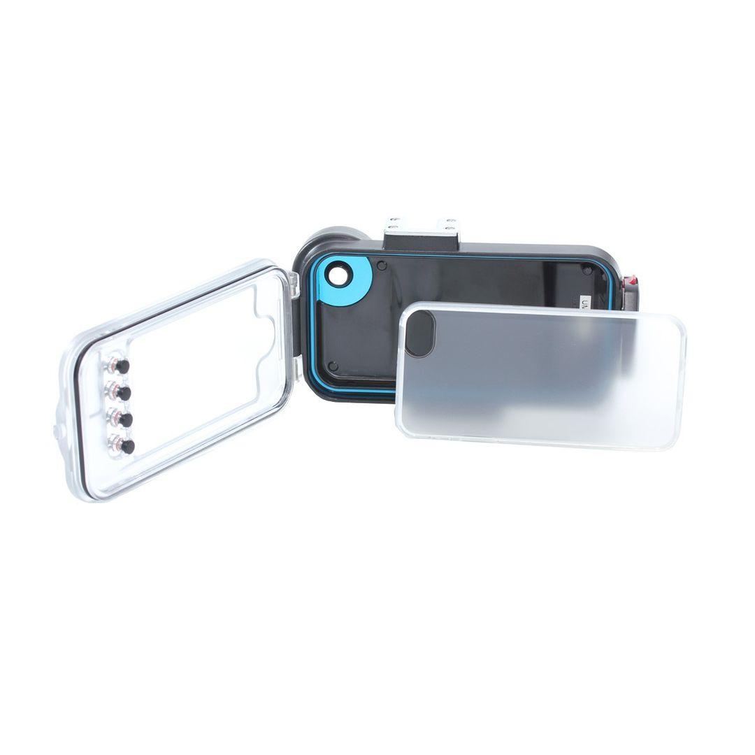iPhone SE und 5s Unterwassergehäuse von Hydronalin® | 40M | inkl. Rotfilter – Bild 2