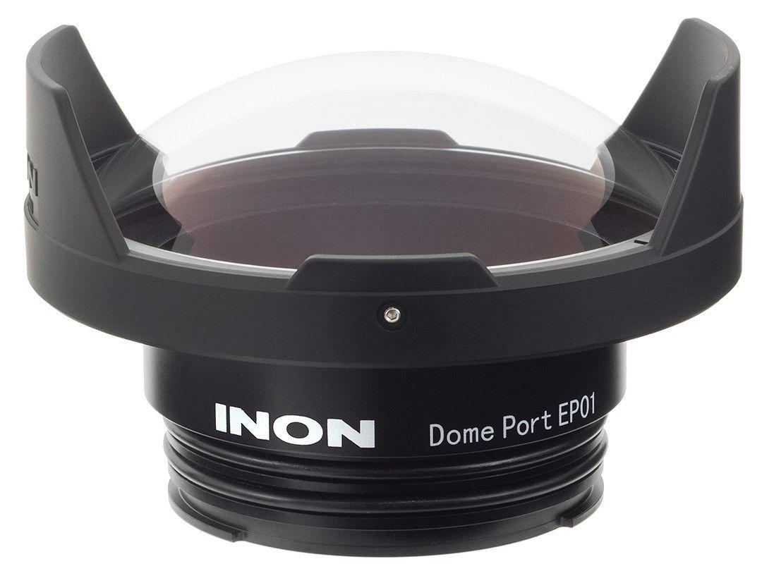 INON Glas Dome Port EP02 für Olympus PT-EP14 / PT-EP11 / PT-EP08 Gehäuse – Bild 1