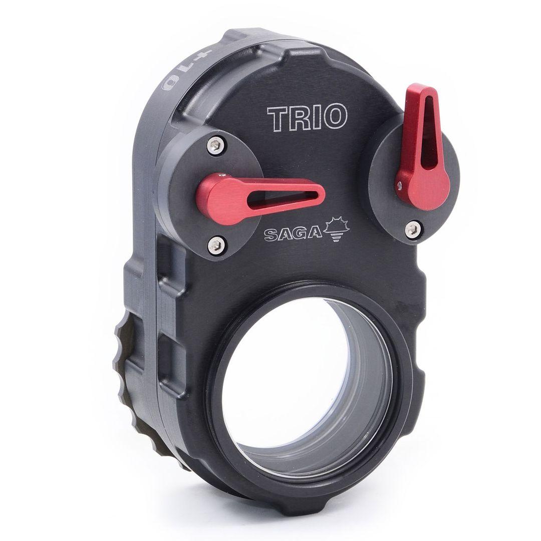 SAGA Trio Makro +5 +10 +15 Diopter Linse +0 einstellbare M67 Klapp Nahlinse – Bild 5