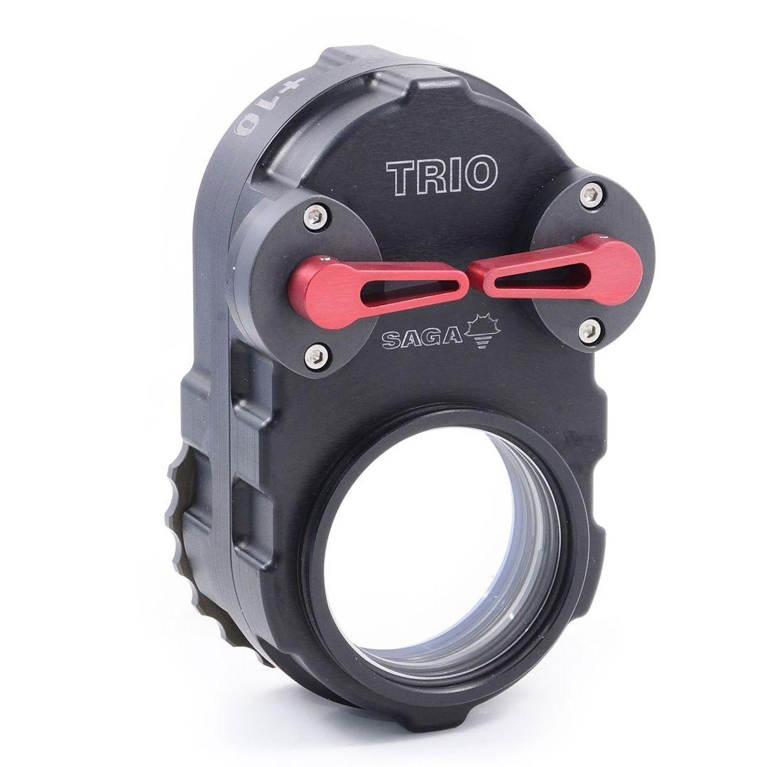 SAGA Trio Makro +5 +10 +15 Diopter Linse +0 einstellbare M67 Klapp Nahlinse – Bild 6