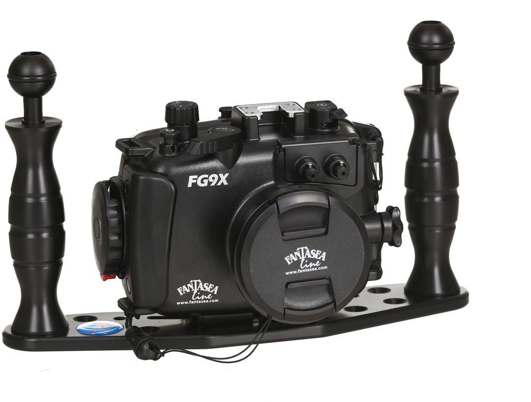 Fantasea FG9X II UW Set Canon PowerShot G9X II Tauch Gehäuse 60m WP-DC – Bild 1