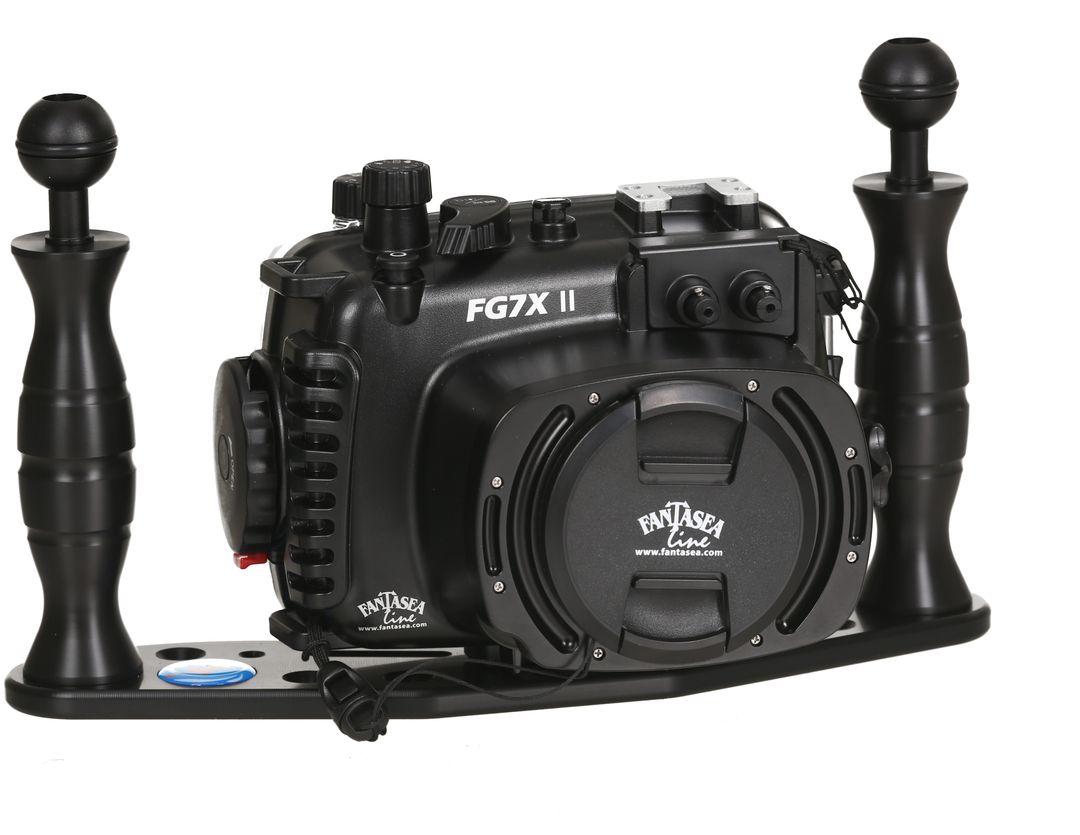 Fantasea FG7X II UW Set Canon Powershot G7X 2 Tauch Gehäuse 60m WP-DC55 – Bild 1