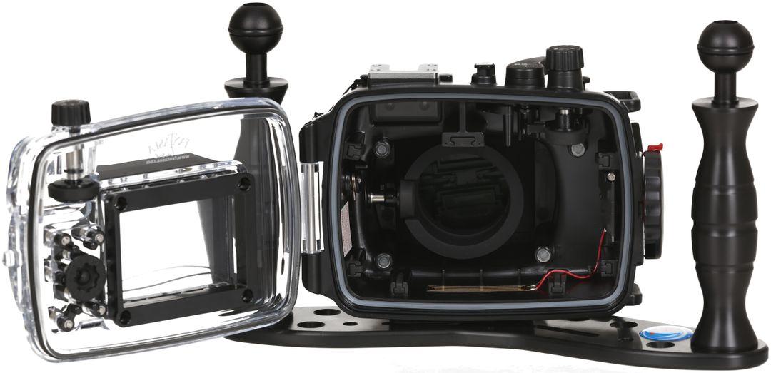 Fantasea FG7X II UW Set Canon Powershot G7X 2 Tauch Gehäuse 60m WP-DC55 – Bild 4