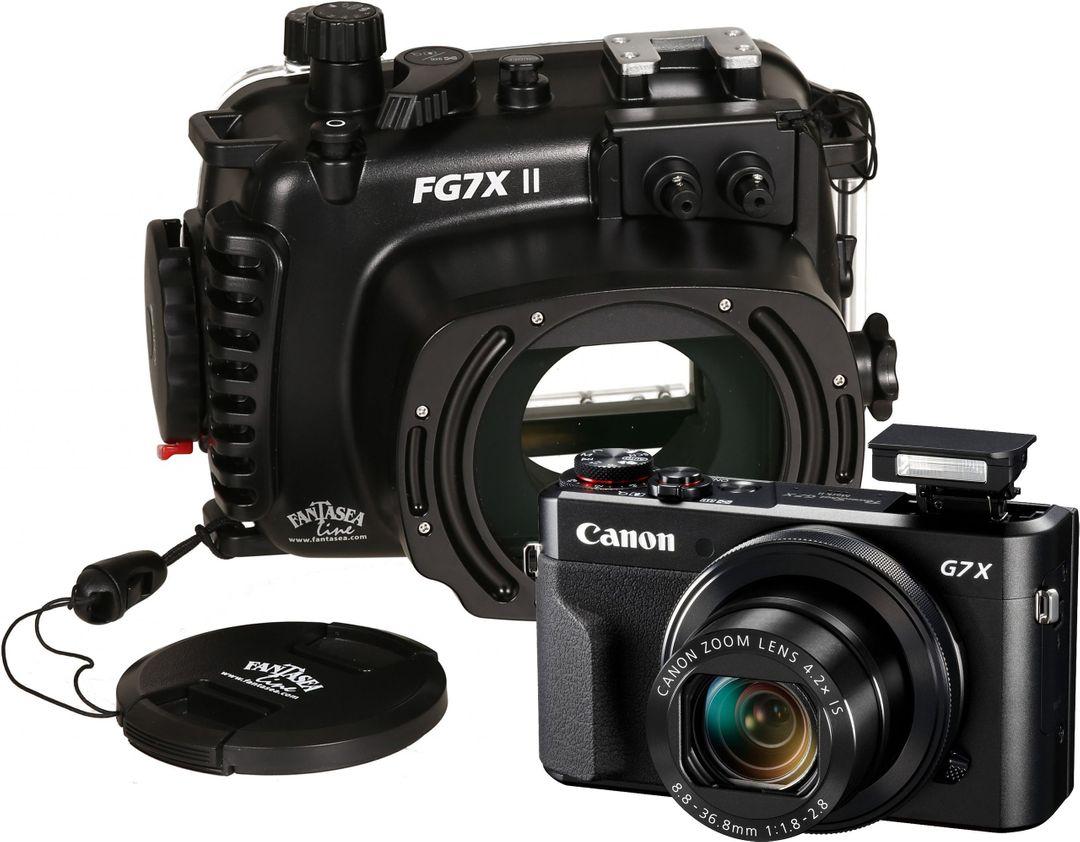Unterwasserkamera Set Canon PowerShot G7X Mk II mit Fantasea Gehäuse FG7XII – Bild 4