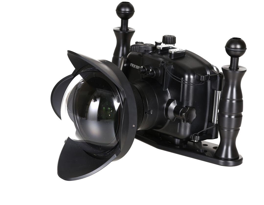 Fantasea FRX100 Gehäuse Weitwinkel Set Sony RX100 V & IV & III MPK-URX100A – Bild 4