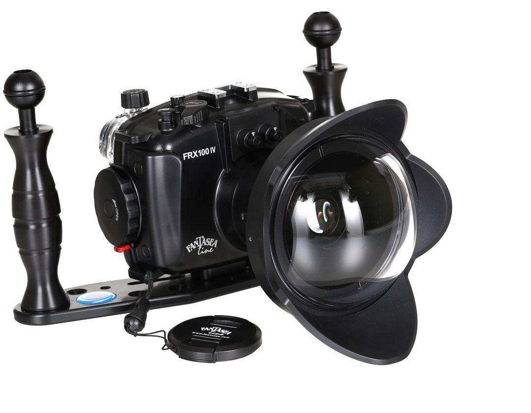 Fantasea FRX100 Gehäuse Weitwinkel Set Sony RX100 V & IV & III MPK-URX100A – Bild 1