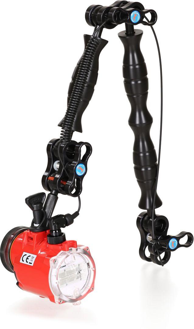 Set mit INON S-2000 und Hydronalin Arm