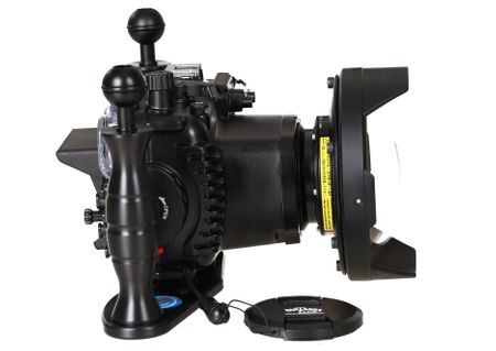 Fantasea FG7X II Set mit INON UWL-H100 & Dome Lens Unit Superweitwinkel – Bild 5