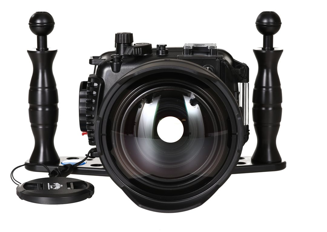 Fantasea FG7X II Set mit INON UWL-H100 & Dome Lens Unit Superweitwinkel – Bild 4
