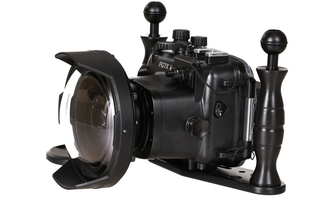 Fantasea FG7X II Set mit INON UWL-H100 & Dome Lens Unit Superweitwinkel – Bild 6
