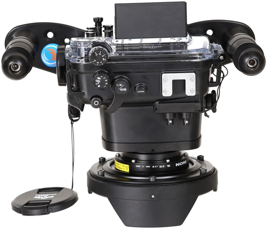 Fantasea FG7X II Set mit INON UWL-H100 & Dome Lens Unit Superweitwinkel – Bild 2