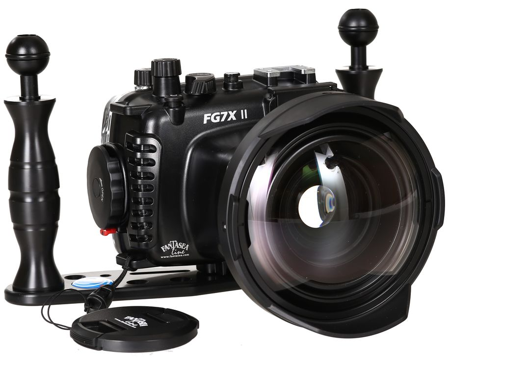 Fantasea FG7X II Set mit INON UWL-H100 & Dome Lens Unit Superweitwinkel – Bild 1