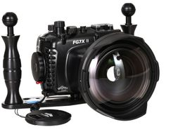 Fantasea FG7X II Set mit INON UWL-H100 & Dome Lens Unit Superweitwinkel 001