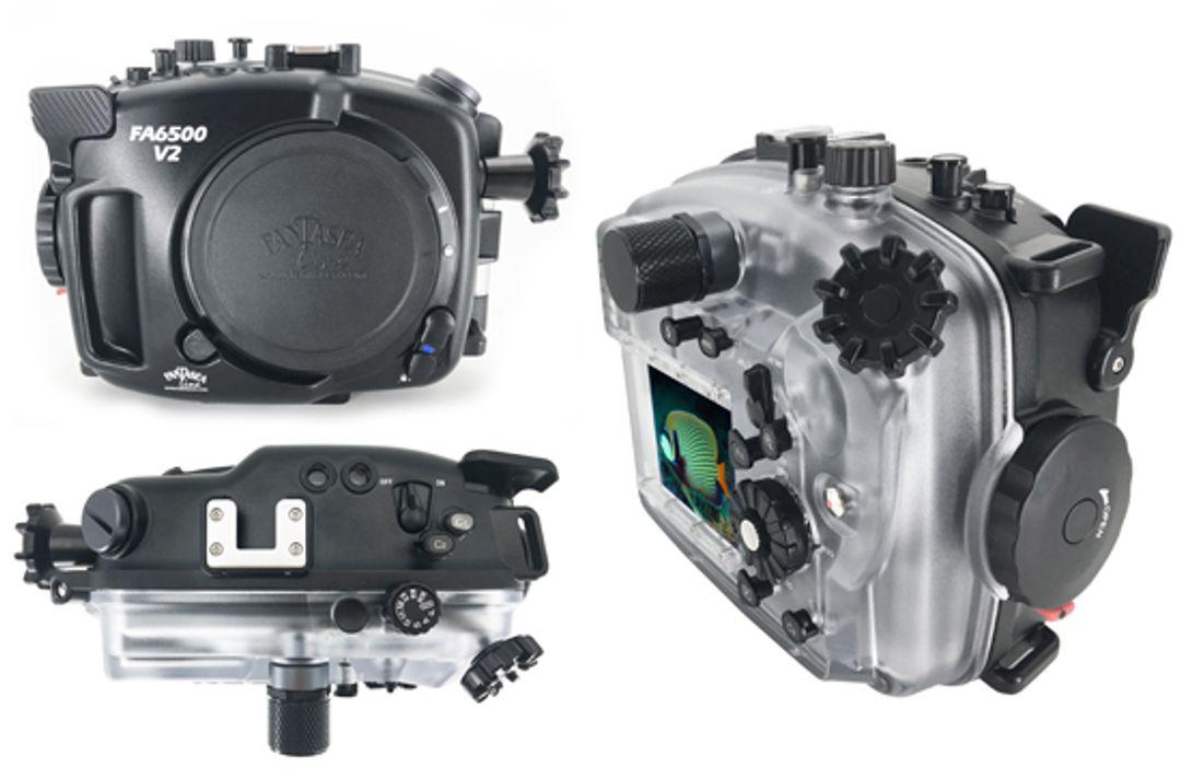 Fantasea FA6500 V2 UW Gehäuse für SONY A6500 & A6300 Kamera #1525
