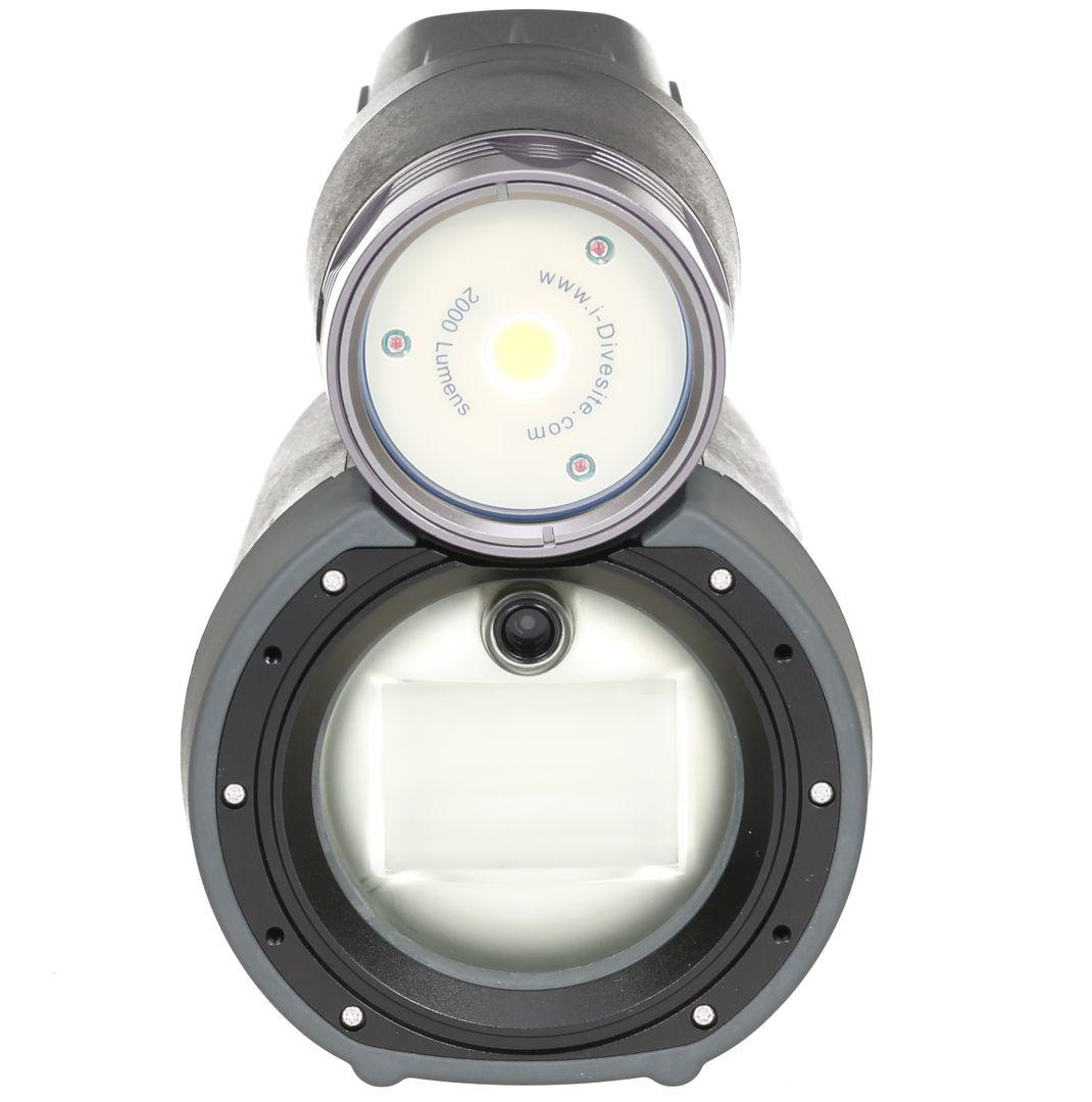 Symbiosis SS-1 i-Divesite Videolampe & Blitz – Bild 4