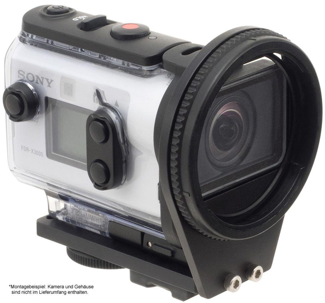 INON SD Mount UWH1 für Sony-X3000 FDR / X3000R & Sony-AS300 HDR / AS300R – Bild 6