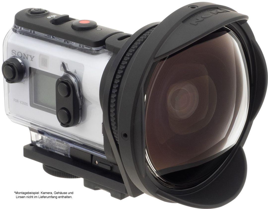 INON SD Mount UWH1 für Sony-X3000 FDR / X3000R & Sony-AS300 HDR / AS300R – Bild 1