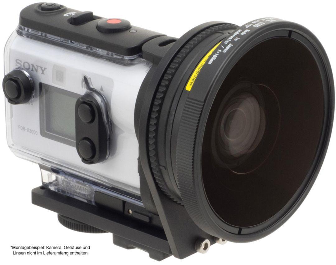 INON UWH1 Set mit Handgriff & SD Mount für Sony-X3000 FDR / X3000R & Sony-AS300 HDR / AS300R – Bild 7