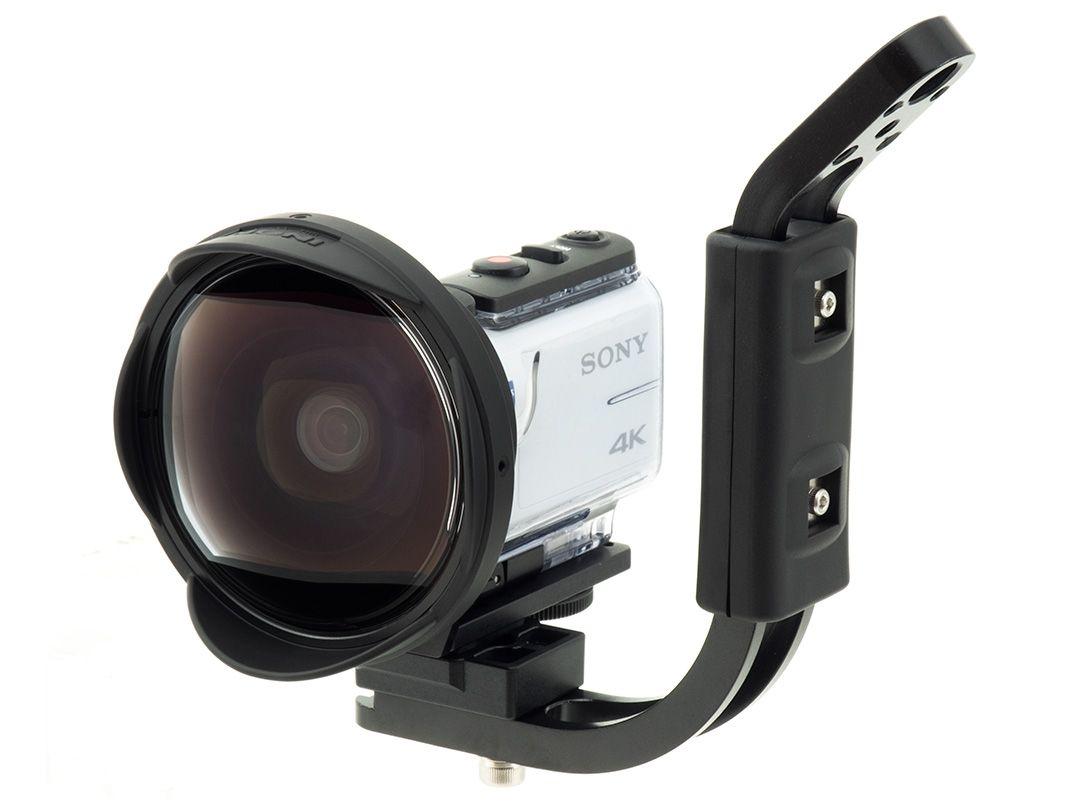 INON UWH1 Set mit Handgriff & SD Mount für Sony-X3000 FDR / X3000R & Sony-AS300 HDR / AS300R – Bild 1